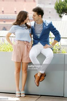 Karol Sevilla and Ruggero Pasquarelli pose during the presentation of their telenovela 'Soy Luna' on June 2016 in Munich, Germany. John Rasimus / Barcroft Media Get premium, high resolution news photos at Getty Images Son Luna, Best Couple, Disney Channel, Aladdin, Couple Goals, My Best Friend, Bff, Presentation, Munich Germany
