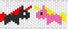 Unicorn Evil Vs Good Cuff bead pattern