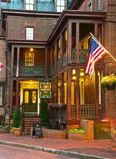 Historic Inns of Annapolis—Annapolis, Maryland. #Jetsetter