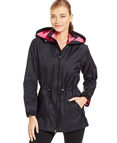 Ideology Womens Hooded Anorak Jacket Black Small * You can get additional details at the image link.(This is an Amazon affiliate link and I receive a commission for the sales)