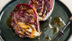 Chargrilled radicchio and blood orange dressing by Ollie Moore