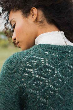 Ravelry: Cotswolds Sweater pattern by Laura Hulslander Sweater Knitting Patterns, Loom Knitting, Knitting Stitches, Knitting Sweaters, Circular Weaving, How To Start Knitting, Knit Picks, Lace Patterns, Stockinette
