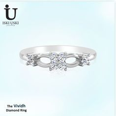 Exclusive Diamond Engagement Rings - IskIUski.com offers women diamond wedding rings online in India with latest designs!!