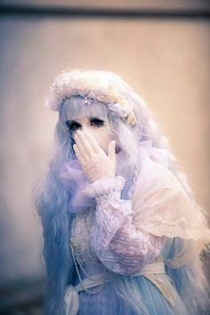 Pastel Goth Girl: