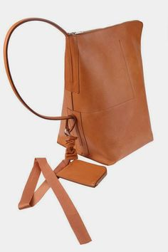 Rick Owens : bucket leather bag : closet rivalry