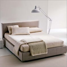 bontempi casa spring continental kingsize bed, fabric-1