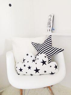 Black & white cushions                                                                                                                                                     More