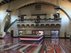 Designed by Mary Colter, Union Station's Harvey House closed in the late 1960s. It's used today for special events.