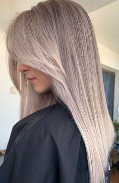 Blonde Hair Shades, Blonde Hair Looks, Brown Blonde Hair, Black Hair, Highlighted Blonde Hair, Medium Ash Blonde Hair, Dark Ash Blonde Hair, Summer Blonde Hair, Hair Color Balayage
