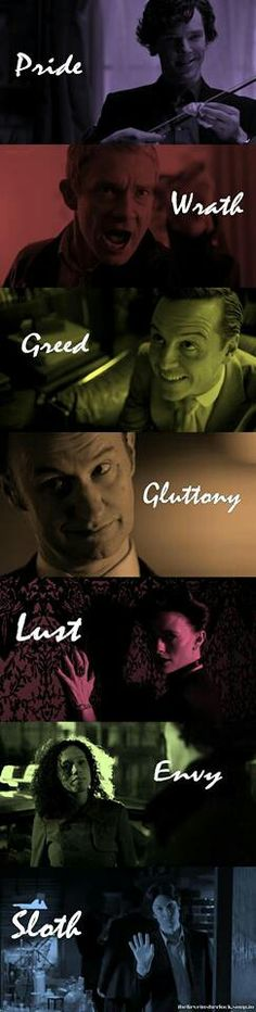 The 7 Sins of Sherlock