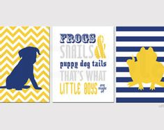 navy and yellow rooms - Google Search