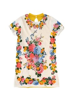 Stella McCartney Marnie Girls Floral Dress
