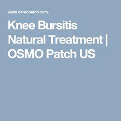 Knee Bursitis Natural Treatment | OSMO Patch US