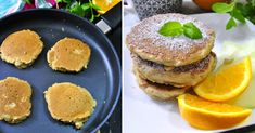 Fit Placuszki Owsiane Na Jogurcie Pancakes, Breakfast, Fit, Morning Coffee, Shape, Pancake, Crepes
