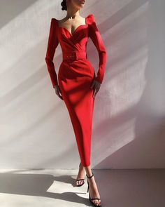 Formal Dresses With Sleeves, Simple Dresses, Elegant Dresses, Pretty Dresses, Casual Dresses, Fashion Dresses, Elegant Outfit, Classy Dress, Classy Outfits