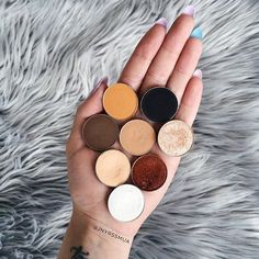 Fall is coming! Are you ready?Photo credit : @jnyrssmua (Instagram) • Chickadee • Corrupt • Mocha • Creme Brulee • In the Spotlight • Beaches and Cream • Flamethrower • Ice Queen