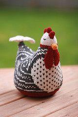 tricoter une poule