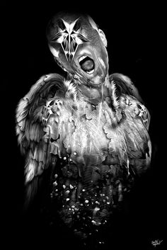 FANTASMAGORIK® ANGEL ART by obery nicolas, via Behance