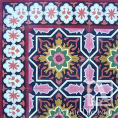 Traditional Melilla Cement Tile 8 x 8 Handmade Cement Tile
