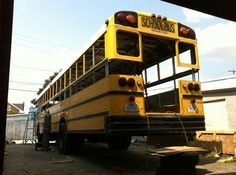 School Bus – Raising the Roof! – Legacy Innovations