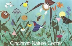 Charley harper as an artist: Charley Harper, Animal Cartoon Video, School Murals, Nature Posters, Nature Center, Bird Art, Cincinnati, New Art, Graphic Art