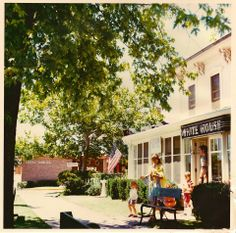 """Saugatuck, Michigan - this was """"Good Goods"""" in the old days - maybe the 1970's?"""