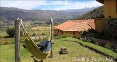 Relaxing at Lodge La Casa de Mamayacchi - Colca Canyon.