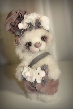 White Gnome by By Sadovskaya Tatiana   Bear Pile