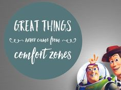 You should try to do great things daily, instead of sitting in your comfort zone waiting for great things to happen!