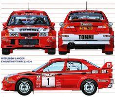Mitsubishi Lancer Evolution VI - World Rally Car 1999.