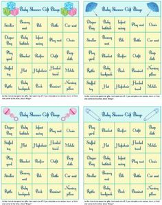 8 delightful free baby shower games images baby shower parties rh pinterest com