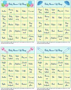 Elegant Printable Baby Shower Gift Bingo   Blue Stripes   Funsational.com | Marcus  Or Lilliana Baby Shower | Pinterest | Bingo, Giftss And Shower Gifts