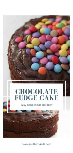 This is a great, simple chocolate cake recipe for kids. Mary Berry's chocolate fudge cake is perfect for any special occasion. #birthday cake for kids #kids birthday #easy #recipe #chocolate #simple #birthday cake #special occaision #sweets