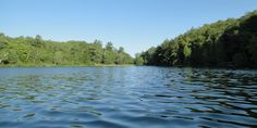 Worried about getting lost? Lac Philippe in Gatineau Park is ideal for newbies #SUP
