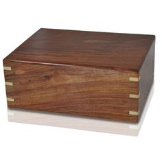 Box-Type Wood Cremation Urns / Cremation Boxes - for HUMAN