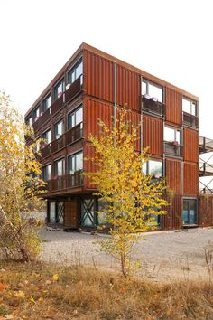 Pueblo Estudiante »Frankie & Johnny« en Berlín por Holzer Kobler Architekturen