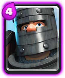 Cavaleiro das trevas Clash Royale Carta