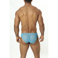 (Good Devil Zoom Bikini Sheer Turquoise) Brand: Good Devil, Low rise fit, Bikini Cut, Contour Pouch, These sexy underwear zoom into the perfect areas, Fabric: 92% Nylon - 8% Spandex, Imported