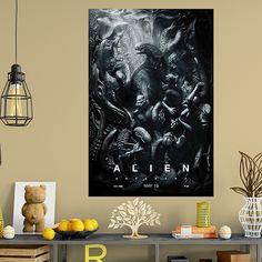 Póster adhesivo Alien Covenant - VINILOS DECORATIVOS Blues Brothers, Pulp Fiction, Curtains, Shower, Prints, Painting, Art, Tv Series, Adhesive