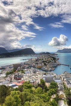 Alesund - love the song so much that maybe I should visit