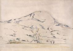 Cezanne - View Of Mont Sainte Victoire  http://www.harvardartmuseums.org/art/297516