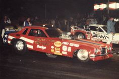 Tommy Ivo Rod Shop Funny Car versus Don Prudhomme