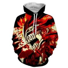 Bleach Ichigo Hollow, Bleach Anime, Bleach Hoodie, Winter Hoodies, Anime Costumes, Hoodie Jacket, Winter Fashion, Street Wear, 3d