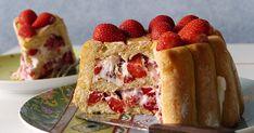 Tarta fácil y rápida de fresas frescas, sin hornear, En poco tiempo la tienes lista para servir.