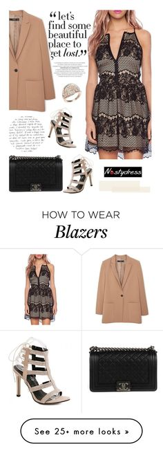 """""""Nastydress 52/1"""" by merima-kopic on Polyvore featuring Chanel, MANGO and nastydress"""