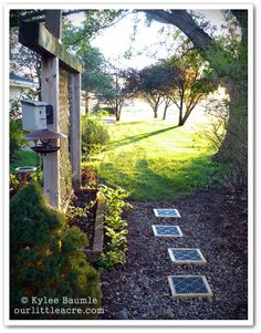 """I Like This - Our Little Acre: """"Pathway Becomes a Solution for Standing Water"""""""