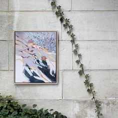 Meanwhile in Melbourne Directrory: Amy Wright Photographer: Martina Gemmola Styling: Ruth Welsby Recent Discoveries, Street Gallery, Abstract Landscape, Landscape Paintings, Mixed Media Canvas, Museum Of Modern Art, Art Object, Beautiful Space, Canvas Frame
