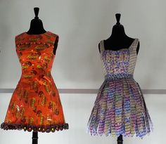 candy wrapper dresses