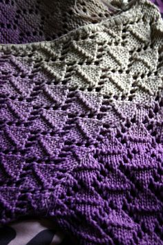 Ombre dyed knit :-)