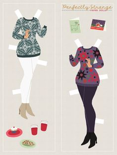 Perfect Strangers Paper Dolls, Page 5